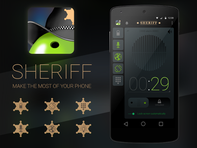Sheriff android sheriff application smart home alarm