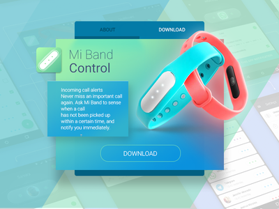 Mi Band Control xiaomi tracker sport notification miband fitnesstracker fitness smart app android