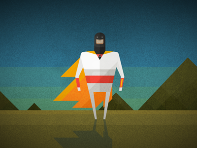 Space Ghost By Mads Frantzen Dribbble Dribbble