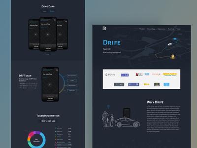 Drife Landing Page