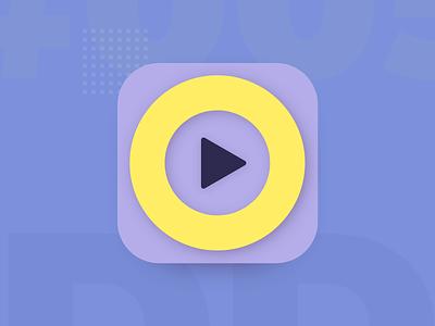 App Icon creative clean minimal colorful ios mobile exploration app icon design design app icon logo 005 daily ui digital design