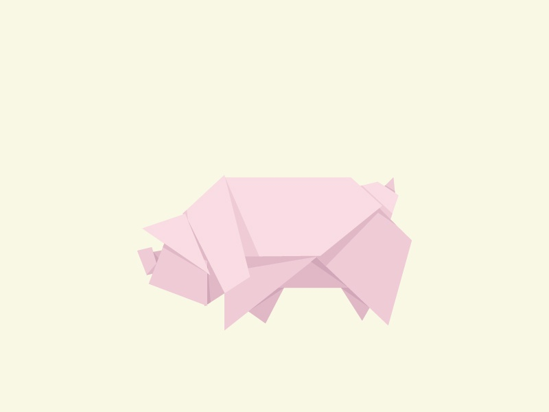 Easy Origami Pig Face - Red Ted Art - Make crafting with kids easy ... | 600x800