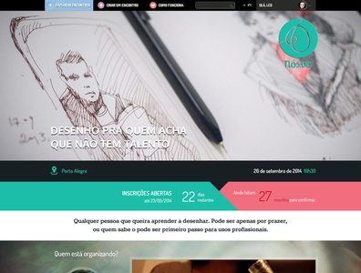 Nos.vc ux ui web design