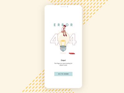 404 page concept #dailyui #008