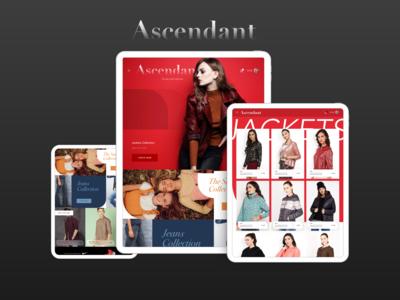 Fashion E-Commerce App Concept fro iPad