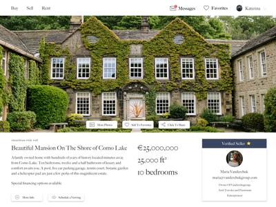 Luxury Real Estate Platform (in development)