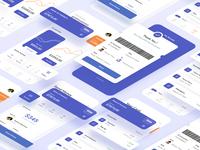 Finance App Management finance business finance management crm transfer money app money deposit bankingapp banking bank finances finance minimalism activity clean card ui design
