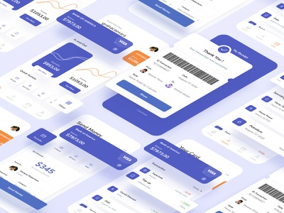 Finance App Management finance business finance management crm transfer money app money deposit bankingapp banking bank finances finance minimalism activity clean card ui design