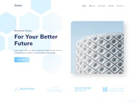 Grafos landing page preview