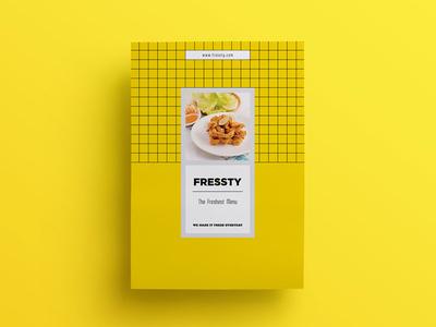 Fressty menu set