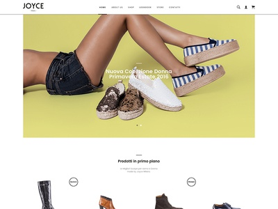 Joyce Milano - Website - Shoes for Woman & Men