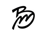 BM Personal Logo design