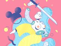 Disney's Bushido - Illustration