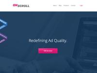 OnScroll - Website update