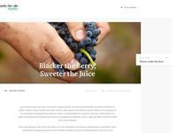 Blog Design Concept 2/3