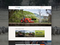 Agriculture Machinery Website