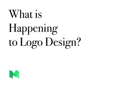 What Is Happening To Logo Design?