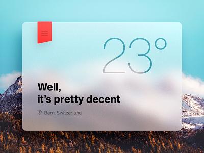 Weather Application [Rebound]