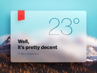 Weather Application [Rebound]