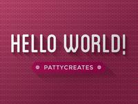 Hello World Dribbble