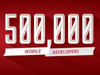 Appcelerator Celebrates 500k Community Developers