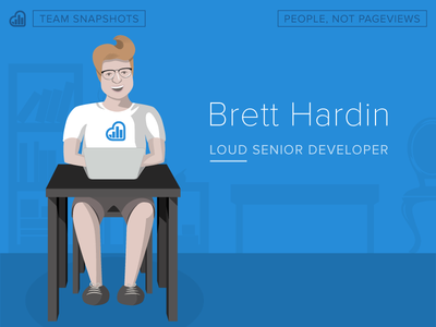 Team Snapshot — Brett Hardin illustration drawing people