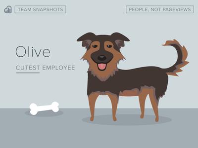 Olive illustration drawing dogs culture kissmetrics