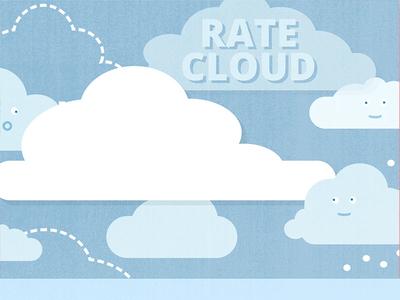 Presentation Deck Slide: Rate Cloud