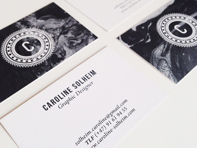 New business Cards! graphic design design business cards cards branding identity typography illustration pattern layout