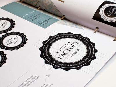 Little Factory - Process book egg process book process book logo egg design