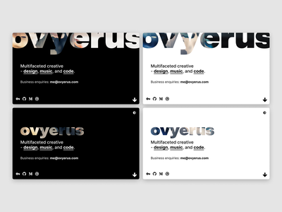 Site Redesign pixelsorting gradient toggle personal choices dark ui dark light branding web ux ui figma