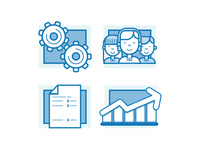 Credit Union Report Icons