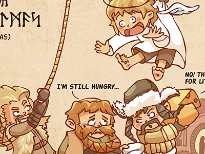 Christmas at Bag End hobbit biblo thorin bofur bombur kili fili hobbiton christmas