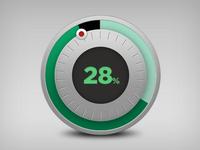 Percentage meter