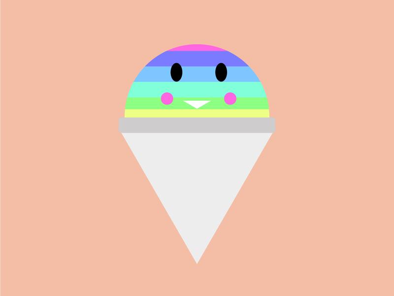 Sno Cone Drone sno cone flavors shaved ice rainbow snow cone