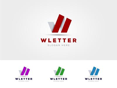 W Letter Logo Design branding professional logos logo design design vector logo white web w letter logo w letter w logo w