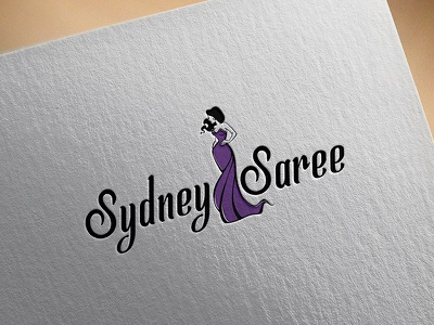 Sydney Saree cloth logo saree sydney