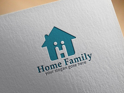 Home Family design family logo home