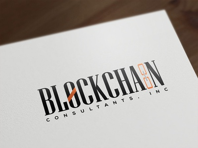 Block Chain Logo Design design logo chain block