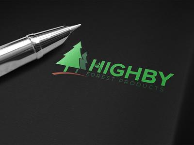 Highby Forest product logo design