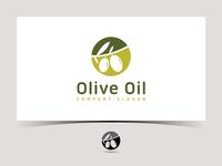 Olive oil vector logo design