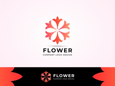 Flower Logo design vector template branding illustration vector professional logos logo design logo design flower illustration flowers flower logo flower