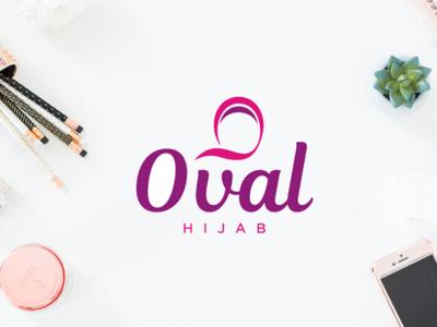 Oval Hijab scarf wear moslem brand logo fashion hijab