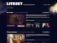 Liveset Events Library