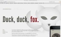 Fox vs. Duck Website
