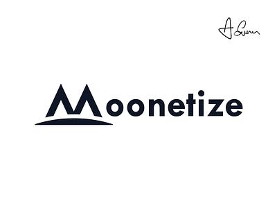 Moonetize - Crypto Portfolio crypto currency design logo logo-design