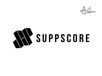 Suppscore - Logo Design supplements design logo logo-design
