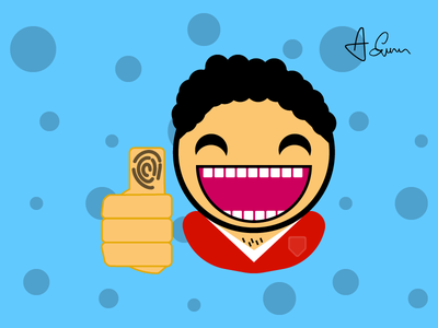 Thumbs Up - Comic Illsutration design comic charicature illustration