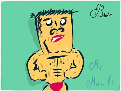 Hand drawn Comic Charakters comic art hand drawn