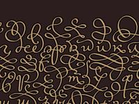 Alphabet / fragment